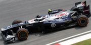 Valtteri Bottas 2013 Malaysia FP1