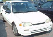 '92-'94 Geo Metro Sedan