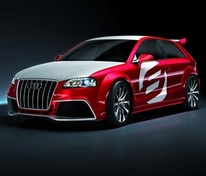 Audi A3 TDI Clunbsport Quattro Concept 1