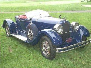 1927 Duesenberg Model X Boattail Roadster-july12a