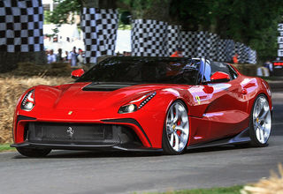 Ferrari F12 TRS in action