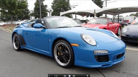 2011 Porsche Speedster ( 262 of 356) Start Up, Exhaust, and In Depth Tour