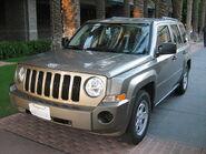 Jeep Patriot at spa resort
