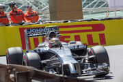 Magnussen 2014 Monaco Grand Prix