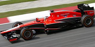 Jules Bianchi 2013Malaysia FP1