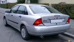 Ford Focus Saloon was one of the remakes of the Ford Focus
