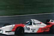 Mika Hakkinen 1995 Britain 2