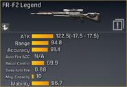 FR-F2 Legend statistics