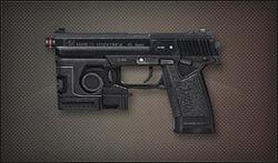 Pistol mk23socom