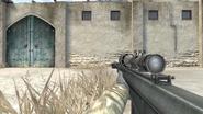 Barrett M82A3 crouch