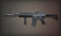 Weapon Assult K2 Rail