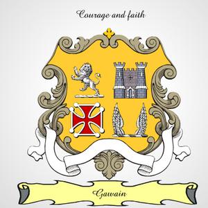 Gawain Family Crest