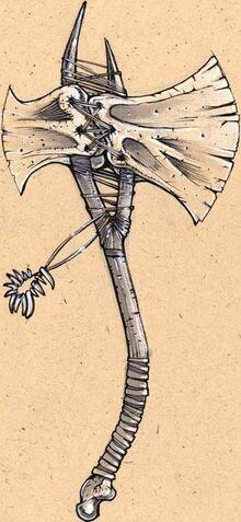Felicia's Bone Axe