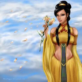 Princess lian the heavenly lilly by shirosuguri-d4kxljm