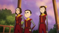 Jinora, Meelo, and Ikki