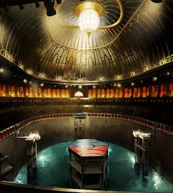 Pro-bending Arena interior