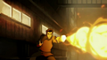 Mako firebending at Lieutenant.png