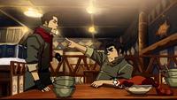 Bolin and Mako argue
