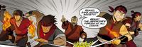 Ukano incites a riot