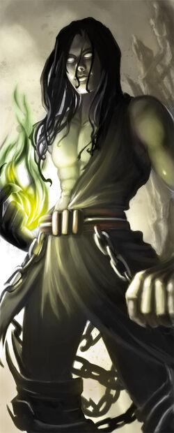 Greek god Hades by Alayna