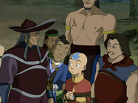 Sokka convincing the pirates