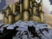 Fire Nation attacks the Northern Air Temple