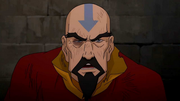 Wounded Tenzin