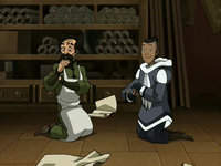 Sokka and the mechanist