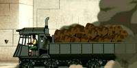 Earth Kingdom supply truck