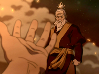 Sozin refuses to help Roku