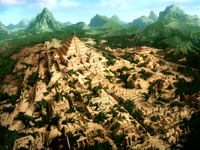 Sun Warriors' ancient city