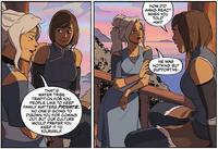 Kya and Korra