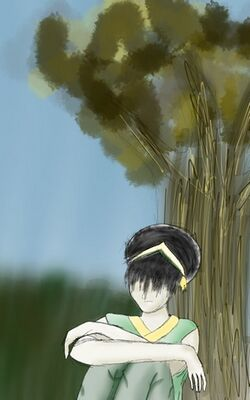 Toph in the Woods
