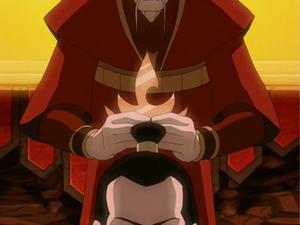 Ozai's coronation
