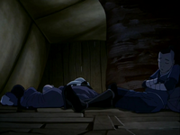 Team Avatar sleeps