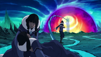Eska tends to Desna