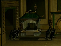 Earth palanquin