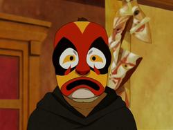 Fire Days Festival mask