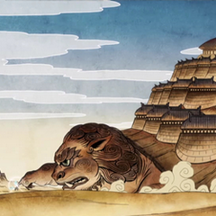 Rùa sư tử Đất.