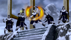 White Lotus sentries bending.png