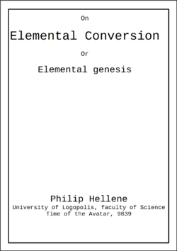 ElementalConversion