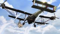 Rebel biplane