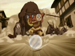 Aang guiding zoo animals.png