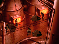 Fire Nation engineers working