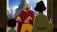Tenzin solicits for airbenders