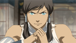 Korra ready to fight