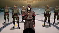 Amon with his Equalists