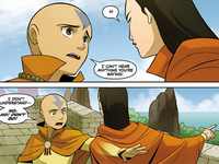 Aang and Yangchen