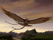 Messenger hawk