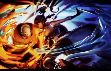 File:Korra and Aang fanart.jpg
